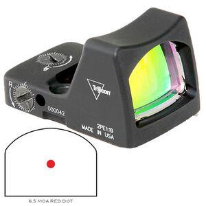 Trijicon RMR LED Sight 6.5 MOA Red Dot Type 2 No Mount Black RM02-C-700607