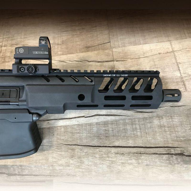 "Samson MPX-8 Sig Sauer MPX 8"" M-LOK Hanguard Aluminum Black"