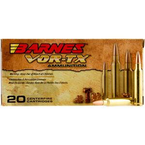 Barnes VOR-TX 5.56 NATO Premium Hunting Ammunition, 20 Rounds, 62 Grain TSX BT 3000fps