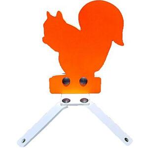 "AR-Mor Springer Squirrel Target AR500 3/8"" Thick Pre-Painted Orange Finish"