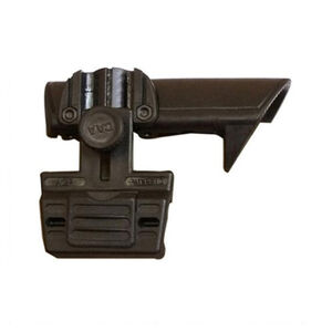 CAA AR-15/M4 Stock Cheek Rest Picatinny Rail Right Hand Shooter Polymer Black PRFCSACP