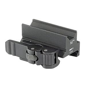 Midwest Industries Quick Detach Optic Mount Trijicon Mini ACOG TA33/TA44 Models Hard Coat Anodized 6061 Aluminum Matte Black