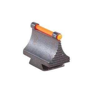 "TRUGLO Rifle Front Sight 3/8"" Dovetail .343"" Height, Red Fiber Optic Steel Black TG95343RR"