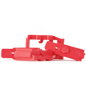 Hexmag HexID Color Identification System for AR-15 Hexmag Magazines Polymer Red 4 pack HXID4ARRED