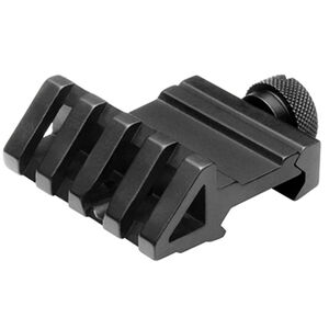 NcSTAR 45 Degree Offset Rail Mount 4 Slot Aluminum Black
