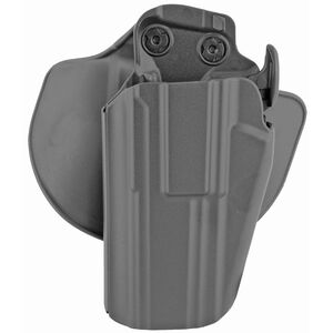 Safariland Model 578 GLS Pro Fit Paddle and Belt Loop Holster fits Springfield Armory XD Left Hand Polymer Plain Black