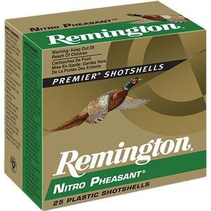 "Remington Nitro Pheasant Loads 20 Gauge Ammunition 2-3/4"" Shell #5 Copper Plated Lead Shot 1oz 1300fps"