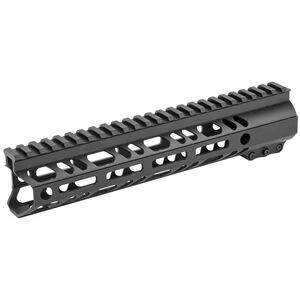 "2A Armament Builder Series AR-15 10"" Free Float Hand Guard Picatinny/M-LOK Aluminum Construction Hard Coat Anodized Matte Black Finish"