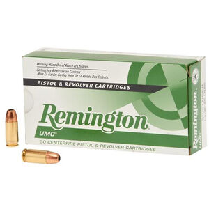 Remington UMC 9mm Luger Ammunition 50 Rounds JHP 115 Grains L9MM1