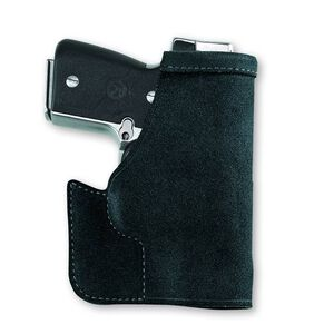 Galco Stow-N-Go Pocket Holster Ruger LCP/Kel-Tec P3AT With Laser Ambidextrous Leather Black PRO486B