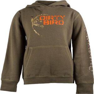 Browning Youth Dirty Bird Mallard Logo Hoodie Cotton/Polyester Leaf/Camo Large