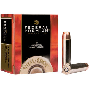 Federal V-Shok .44 Rem Mag 280 Grain Swift-A 20 Round Box