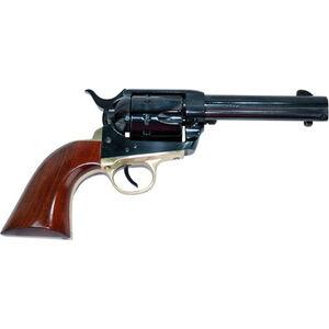 "Cimarron Pistolero .22 LR Single Action Rimfire Revolver 10 Rounds 4.75"" Barrel Pre-War Frame Walnut Grips Blued Finish"