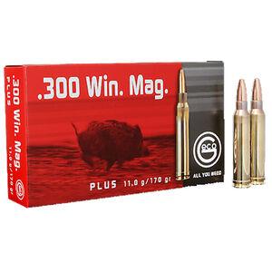 GECO .300 Winchester Magnum Ammunition 20 Rounds 170 Grain GECO Plus Projectile