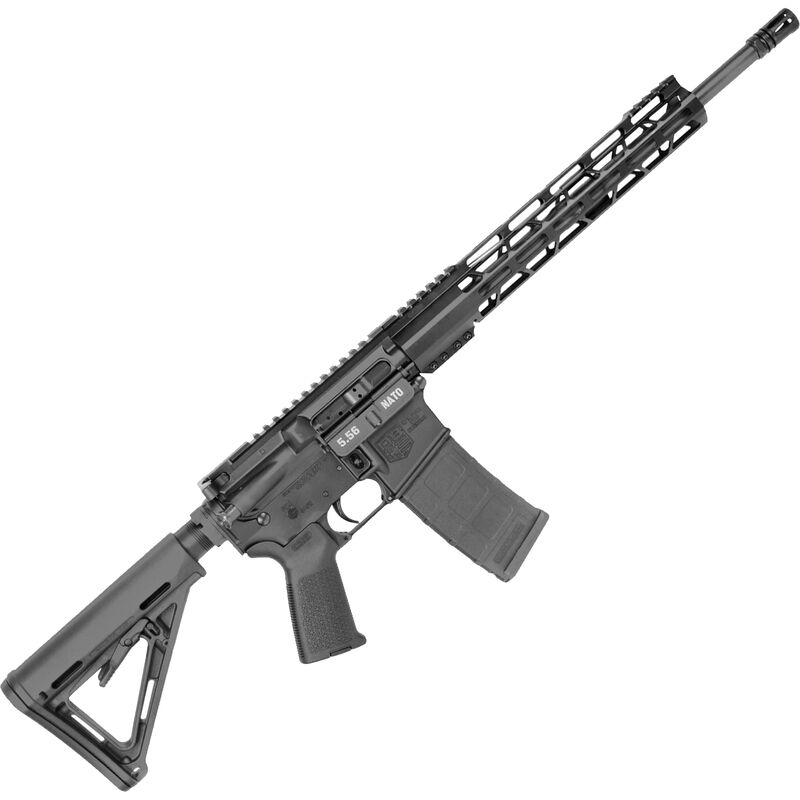 "Diamondback Firearms DB15 AR-15 Semi Auto Rifle 5.56 NATO 16"" Barrel 30 Rounds 12"" M-LOK Hand Guard Collapsible Stock Matte Black Finish"