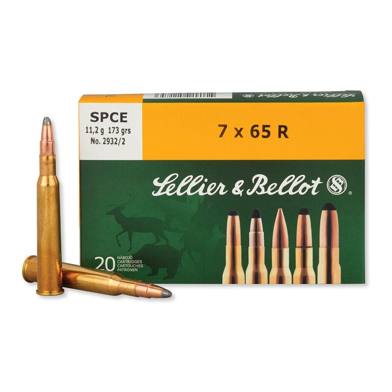 Sellier & Bellot 7x65R Ammunition 400 Rounds SPCE 173 Grains SB765RA