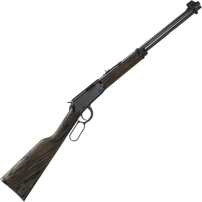 "Henry Garden Gun .22 LR Shotshell Lever Action Rimfire 18.5"" Smooth Bore Barrel 15 Rounds Adjustable Rear Sight Black Ash Stock Black Finish"
