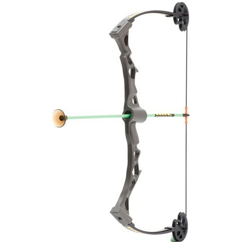 NXT Generation Toys Rapid Riser Compound Bow with Arrows Grey