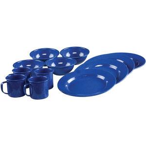 Coleman Blue Enamelware Dining Set 12 Piece