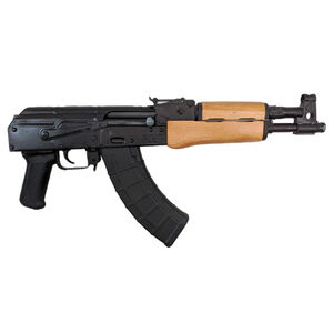 "Century Arms Romanian Draco 7.62x39 Semi Auto Pistol 12.25"" Barrel 30 Rounds Wood Forend Matte Black"