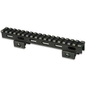 """Lion Gears AR-15 Tactical 1"""" Riser Mount 17 Slots 7"""" Long Aluminum Black BM1710"""