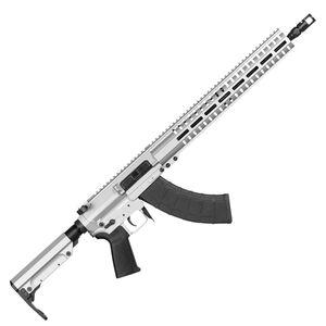 "CMMG Resolute 300 Mk47 7.62x39mm AR-15 Style Semi Auto Rifle 16"" Barrel 30 Round AK-47 Magazine RML15 M-LOK Handguard RipStock Collapsible Stock Titanium Finish"