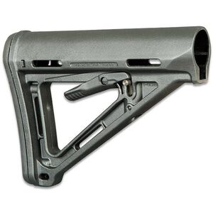 Magpul MOE AR-15 Carbine Stock Mil-Spec Polymer Black MAG400-BLK