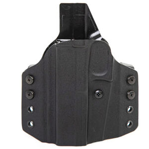 Uncle Mike's CCW Holster fits S&W M&P Shield 2.0 9/40 OWB Left Hand Polymer Black