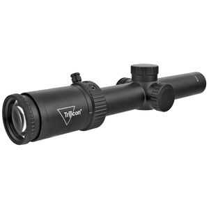Trijicon Credo HX 1-4x24 Riflescope With Green Standard Duplex Crosshair Reticle MOA Adjustment SFP 30mmTube Black