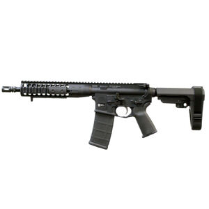 "LWRC IC-DI 5.56 NATO Semi Auto Pistol 10.5"" Barrel 30 Round Modular Free Float Rail SBA3 Pistol Brace Matte Black"