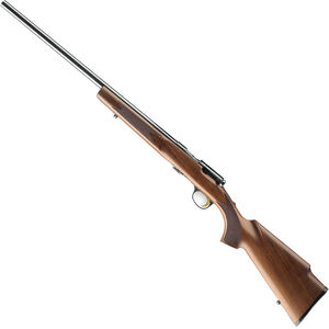 "Browning T-Bolt Target/Varmint Left Hand Bolt Action Rimfire Rifle .17 HMR 22"" Heavy Barrel 10 Rounds Walnut Stock Black"