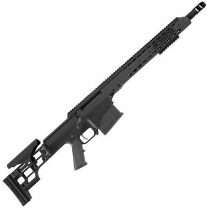 "Barrett Firearms Manufacturing MRAD Bolt Action Rifle .308 Winchester 17"" Barrel 10 Rounds Folding Stock Anodized Black Finish 14342"