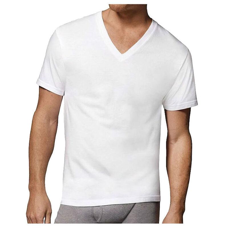 Champion Tactical Hanes Men's Tagless V-Neck T-Shirt, 3 Pack
