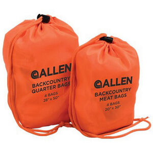 Allen Cases Backcountry Quarter Bags 4 Pack Orange