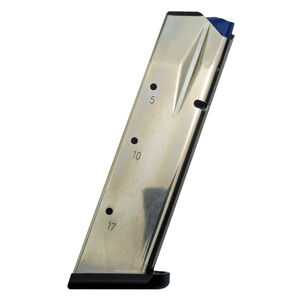 CZ-USA 75 Shadow Model Handguns Magazine 9mm Luger Full Size 17 Rounds Steel Plated Finish