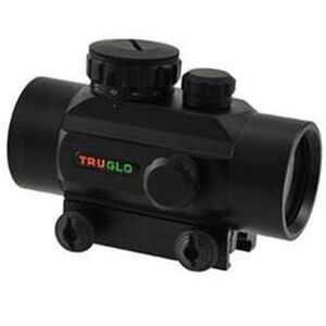 TRUGLO Red Dot Sight 30mm Picatinny/Weaver Mount 5 MOA Dot Aluminum Black TG8030P
