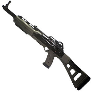 "Hi-Point Carbine Semi Auto Rifle 9mm Luger 16.5"" Barrel 10 Rounds Polymer Stock OD Green"