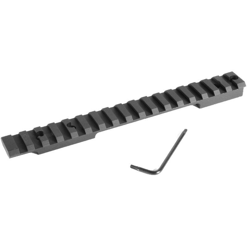 EGW HD Remington 700/722/40x Long Action Picatinny Rail Scope Mount 0 MOA Aluminum Matte Black