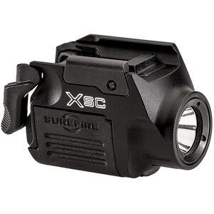 Surefire XSC Weapon Mounted Light for GLOCK 43X/48 350 Lumens 2,000 Candela Aluminum Rechargeable Battery Rail Mounted Black