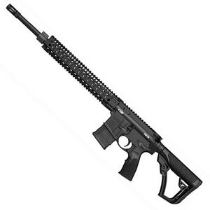 "Daniel Defense MK12 AR-15 Semi Auto Rifle .223 Rem/5.56 NATO 18"" Barrel 20 Rounds Free Floating Quad Rail Black 02-142-13175-047"