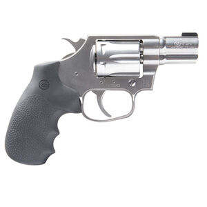 "Colt Cobra .38 Special +P Double Action Revolver 2"" Barrel 6 Round Cylinder Bead Front Sight Trench Rear Matte Brushed Stainless Steel Finish"