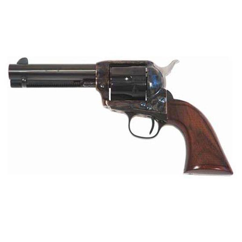"Cimarron Evil Roy Comp Single Action Revolver .357 Magnum 5.5"" Barrel 6 Rounds Special Gunfighter Thin Walnut Grips Blue Finish ER4104"