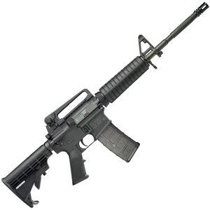 "S&W M&P 15 5.56 NATO Semi Auto AR-15 Rifle 16"" M4 Barrel 30 Rounds Removable Carry Handle Black"