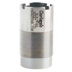 Carlson's 20 Gauge Winchester/Browning Invector/Mossberg/Savage/Weatherby Flush Mount Choke Tube Cylinder 17-4 Stainless Steel 10107