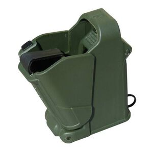 Maglula UpLULA Universal Pistol Magazine Loader Multiple Calibers Polymer Dark Green UP60DG