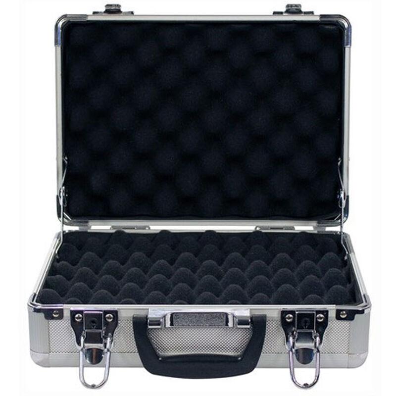 Sportlock Alumalock Double Handgun Case Small Aluminum Interlocking Foam Crate Foam US Flag 00430