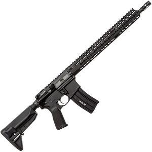 """Bravo Company USA RECCE-16 KMR-A 5.56 NATO AR-15 Semi Auto Rifle 16"""" Barrel 30 Rounds Key-Mod Handguard Collapsible Stock Black"""