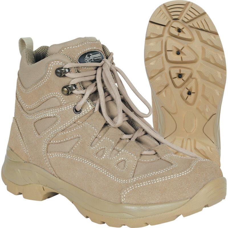 "Voodoo Tactical 6"" Tactical Boot Nylon/Leather Size 10.5 Regular Khaki Tan 04-968083105"