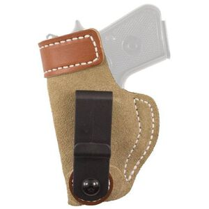 DeSantis Gunhide Sof-Tuck GLOCK 42 Inside the Waistband Holster Left Hand Leather Natural 106NBY8Z0
