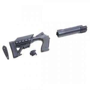 Archangel 500 Tactical Shotgun Stock System Mossberg 500/590 Black Polymer AA500